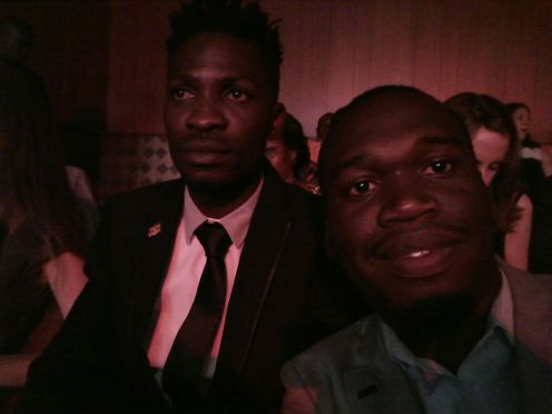 Kivumbi Earnest Benjamin with Bobi Wine (1)