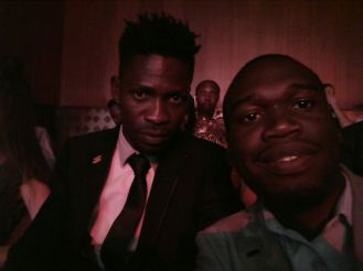Kivumbi Earnest Benjamin with Bobi Wine (2)