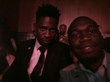 Kivumbi Earnest Benjamin with Bobi Wine (2)