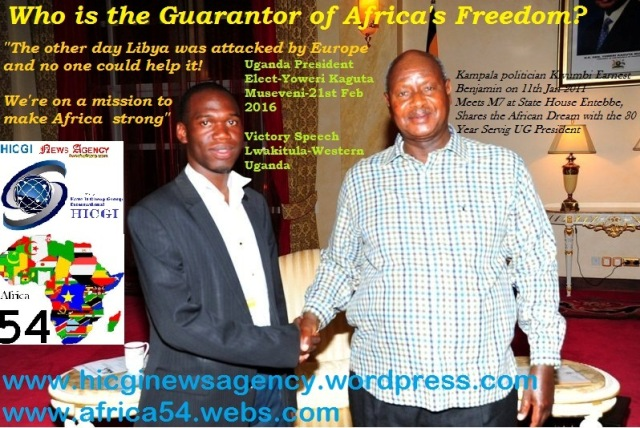 Who is the Guarantor of African Freedom-Kivumbi with President Museveni