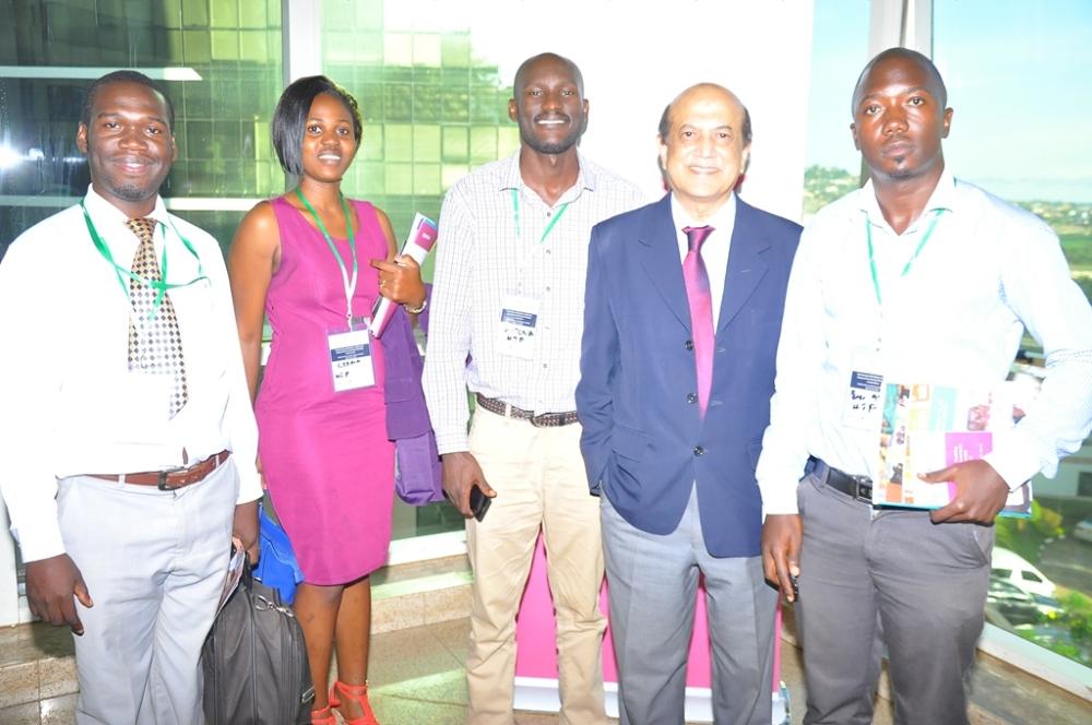 HTP Team Kivumbi Earnest Benjamin, Gloria Nantongo, Allan Kitonsa, Brac VICE Chairman Dr. Ahmed Mustapha Chaudruy & Peter Matson Mulindwa.JPG1