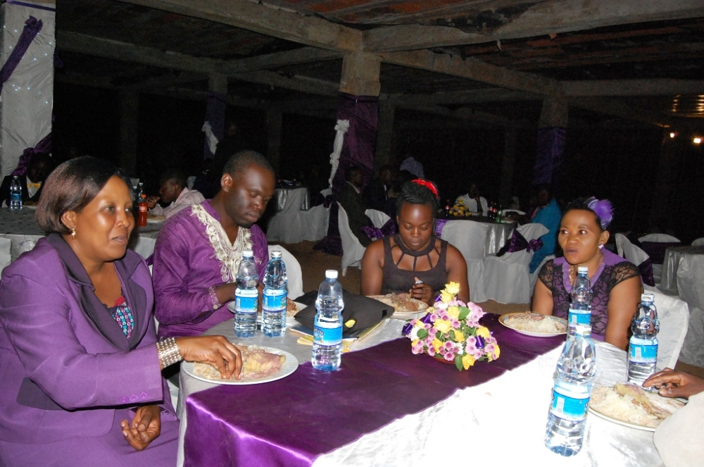 Kivumbi Earnest Benjamin & Pastor Irene Manjeri-Woman of Class Night03
