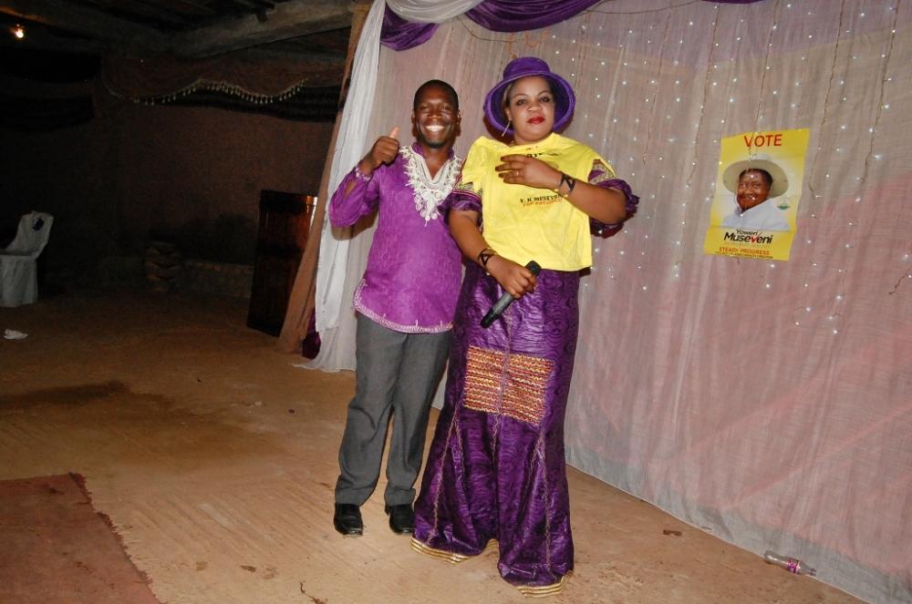 Kivumbi Earnest Benjamin & Pastor Irene Manjeri-Woman of Class Night07