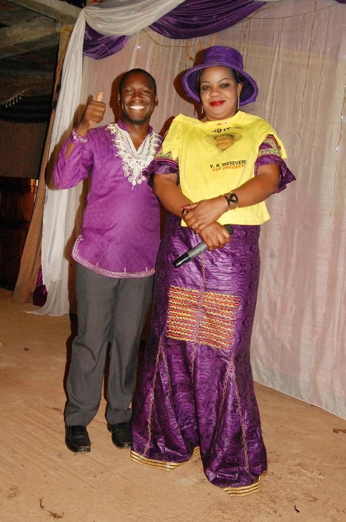 Kivumbi Earnest Benjamin & Pastor Irene Manjeri-Woman of Class Night08