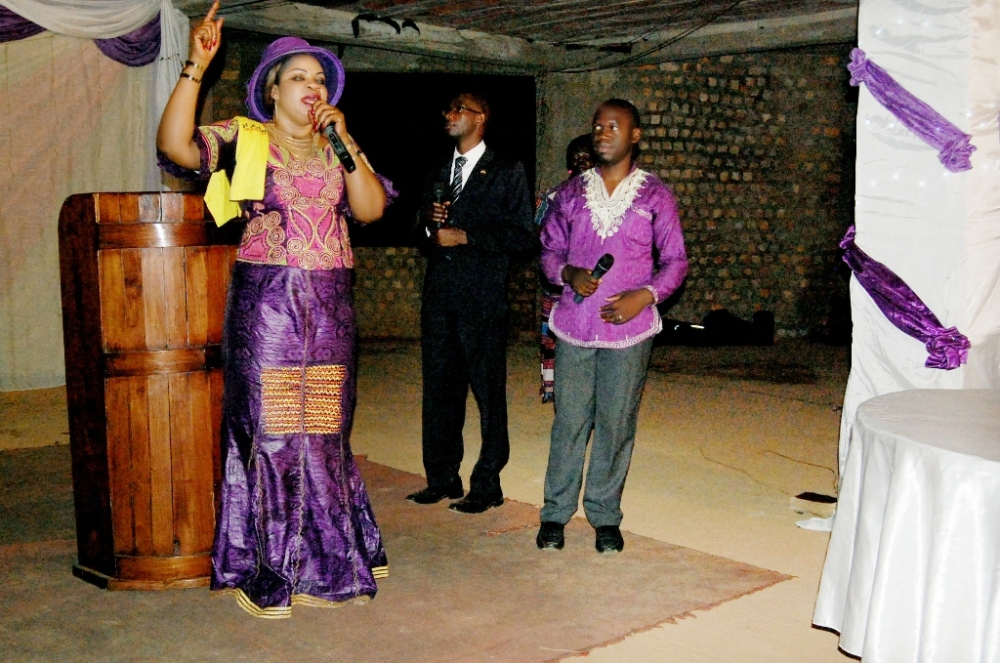 Kivumbi Earnest Benjamin & Pastor Irene Manjeri-Woman of Class Night10