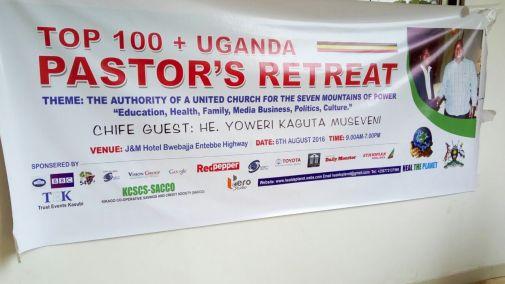 HTP 1st Top 100 Uganda Pastors Retreat J&M Hotel Bwebajja008