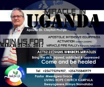 Dr Clayton Phillip