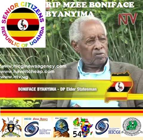 RIP Mzee Boniface Byanyima