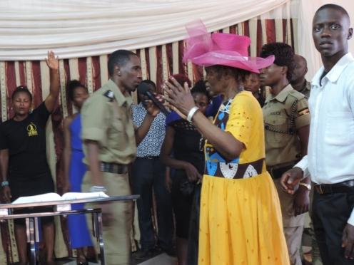 Bwana Arinatwe Gilbert at Ps David Bweyinda Church (14)