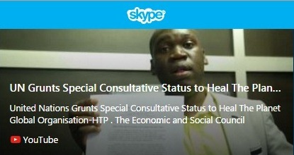 United Nations Grunts Special Consultative Status to Heal The Planet Global Organisation - Copy