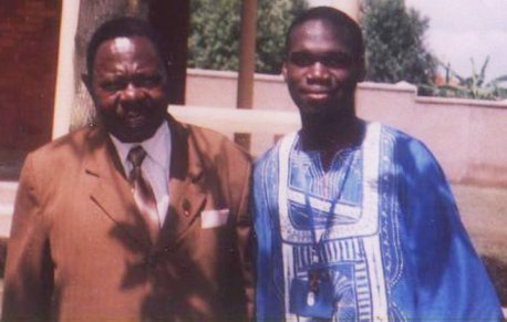 Sebana Kizito with Kivumbi Earnest Benjamin