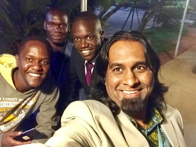 Kivumbi Earnest Bnejamin & Don Vicent Bwana recieve DR. APOSTLE PAUL KARL VICTOR SR (6)