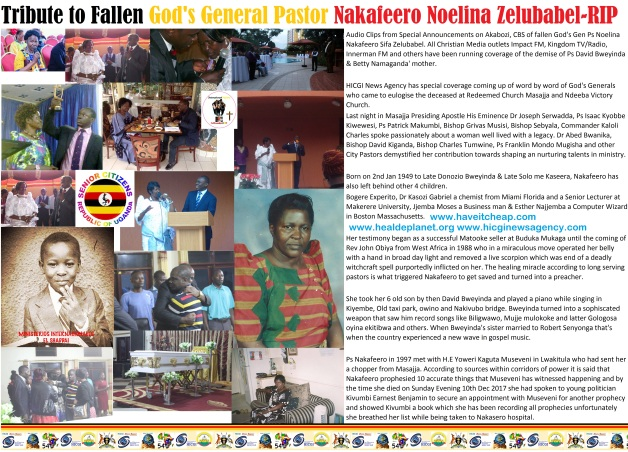 Trinute to Pastor Nakafeero Zelubabel Noelina