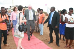 Kivumbi Earnest Benjamin MC as 2nd Fistula Hospital in Africa Starts (11)
