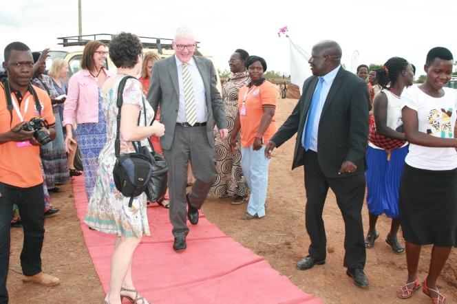 Kivumbi Earnest Benjamin MC as 2nd Fistula Hospital in Africa Starts (11)