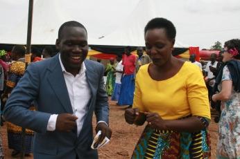 Kivumbi Earnest Benjamin MC as 2nd Fistula Hospital in Africa Starts (13)