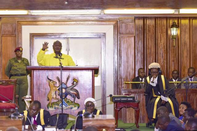 Museveni adresses parliament on security (1)