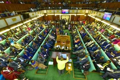 Museveni adresses parliament on security (4)