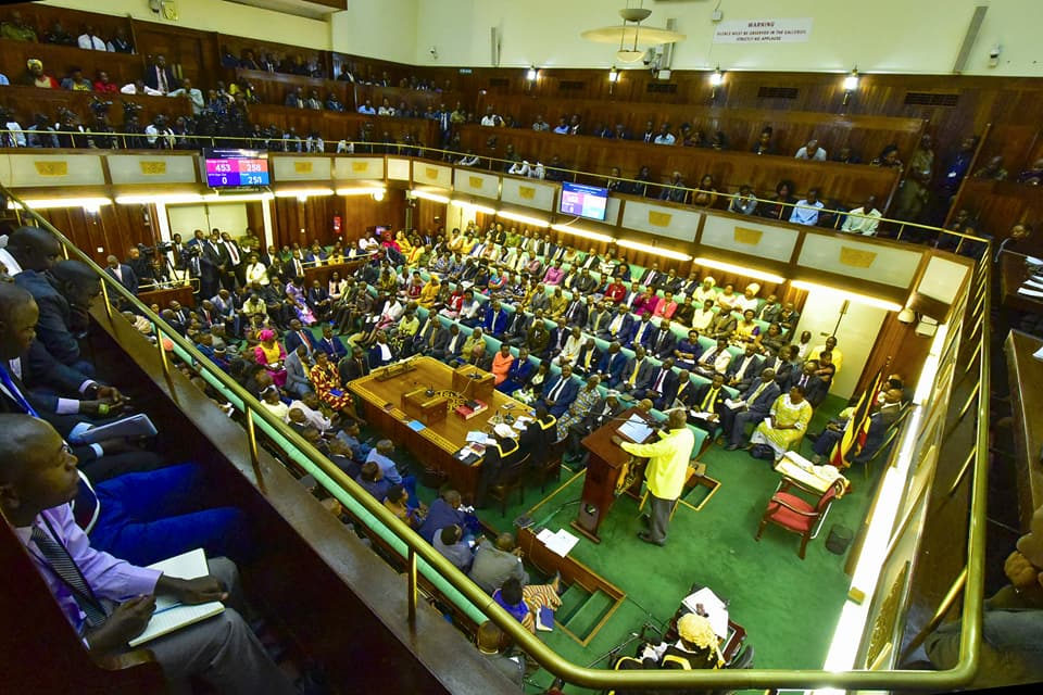 Museveni adresses parliament on security