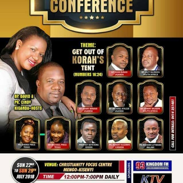 Bishop Kiganda Annual Ministers Conference