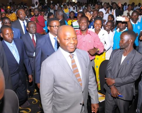 Kivumbi Earnest Benjamin Meets Kabaka Ronald Muwenda Mutebi