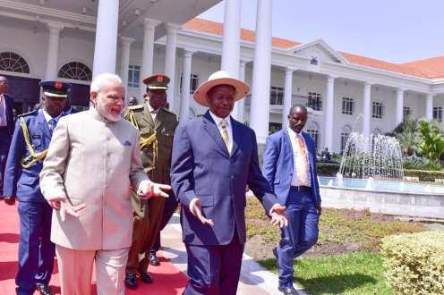 Narenda Modi visit in Uganda (3)