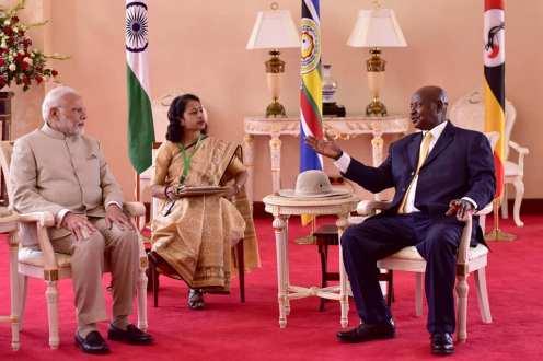Narenda Modi visit in Uganda (4)