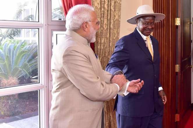 Narenda Modi visit in Uganda (5)