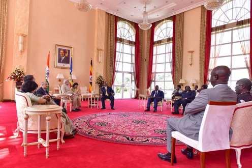 Narenda Modi visit in Uganda (6)