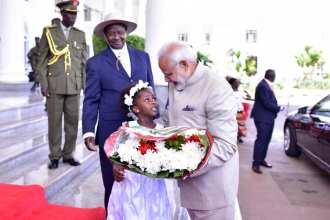 Narenda Modi visit in Uganda (7)