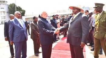 Narenda Modi visit in Uganda (9)