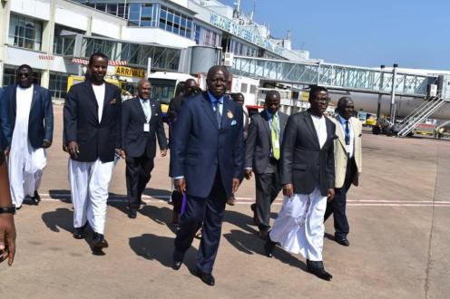Ashanti Asantehene Otumfuo Osei Tutu II visitin Uganda (1)