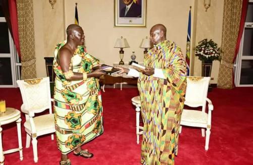 Ashanti Asantehene Otumfuo Osei Tutu II visitin Uganda (11)