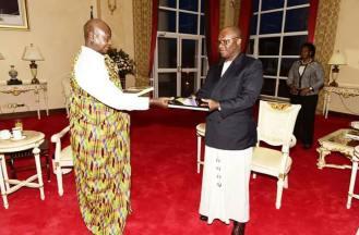 Ashanti Asantehene Otumfuo Osei Tutu II visitin Uganda (17)