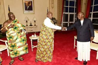 Ashanti Asantehene Otumfuo Osei Tutu II visitin Uganda (21)