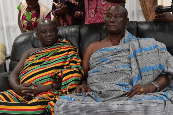 Ashanti Asantehene Otumfuo Osei Tutu II visitin Uganda (5)