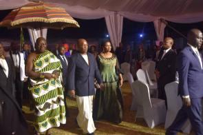 Ashanti Asantehene Otumfuo Osei Tutu II visitin Uganda (6)