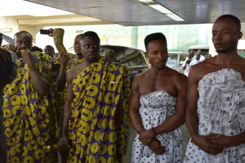 Ashanti Asantehene Otumfuo Osei Tutu II visitin Uganda (7)