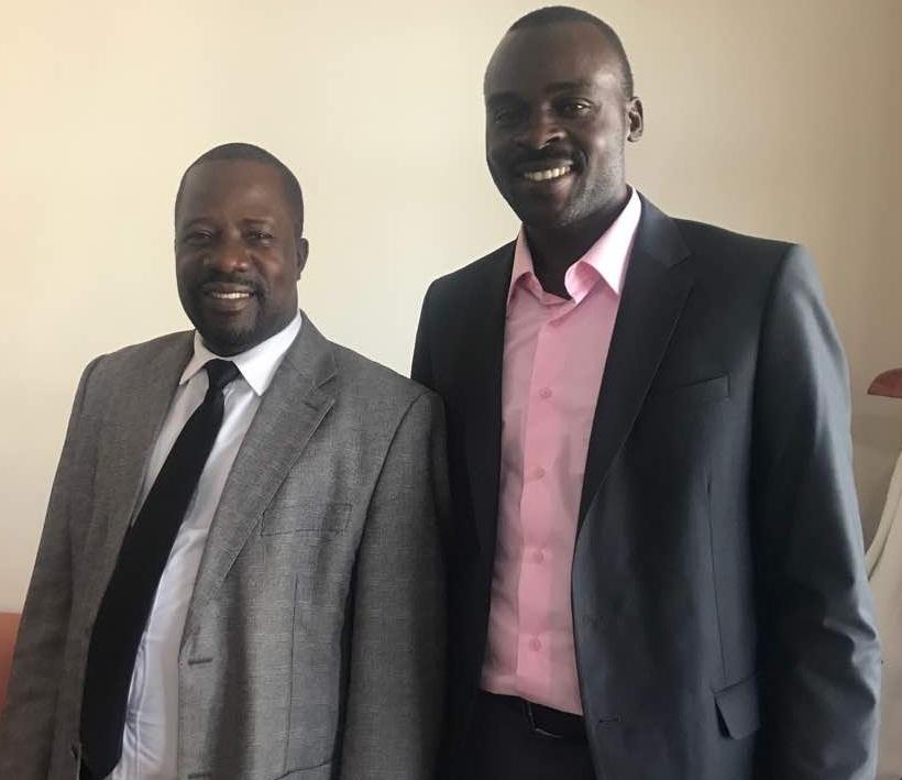 Bishop Kiganda with Malcolm (2)