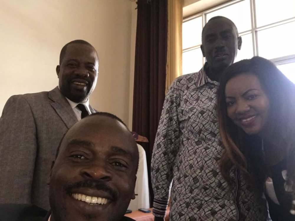Bishop Kiganda with Malcolm (3)