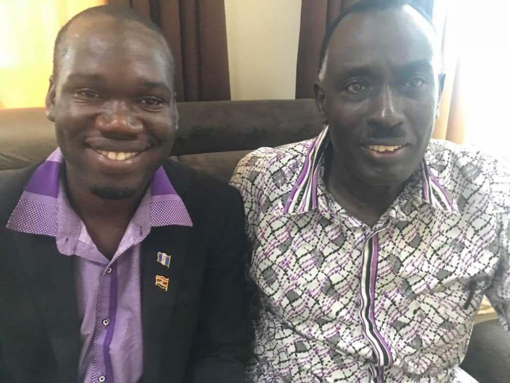 Gen Benon Bilalo with Kivumbi Earnest