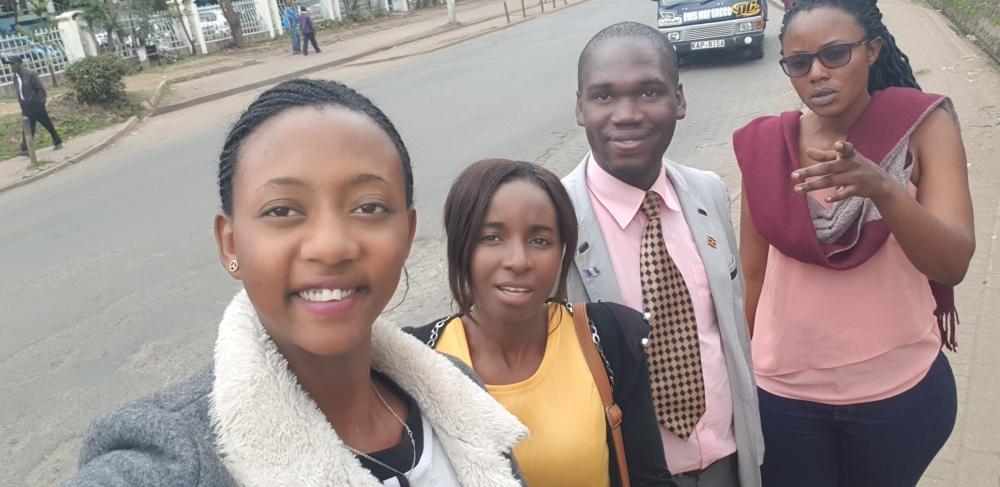 HTP Officials Earnest Benjamin & Princess Scovia Kivumbi, Naomi & Anitha Trip to Nairobi (134)
