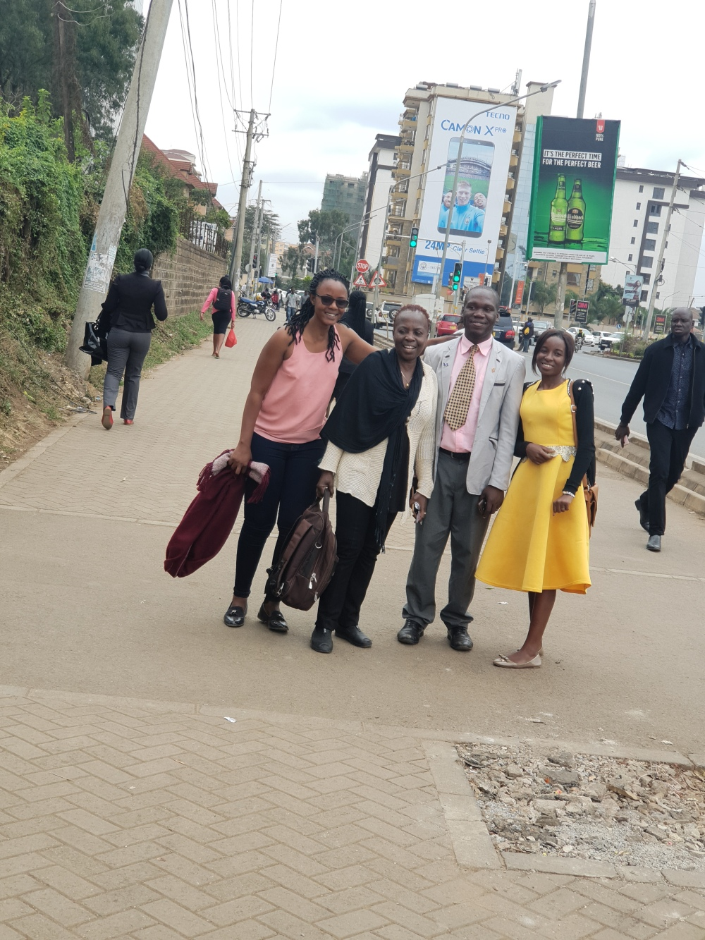 HTP Officials Earnest Benjamin & Princess Scovia Kivumbi, Naomi & Anitha Trip to Nairobi (147)