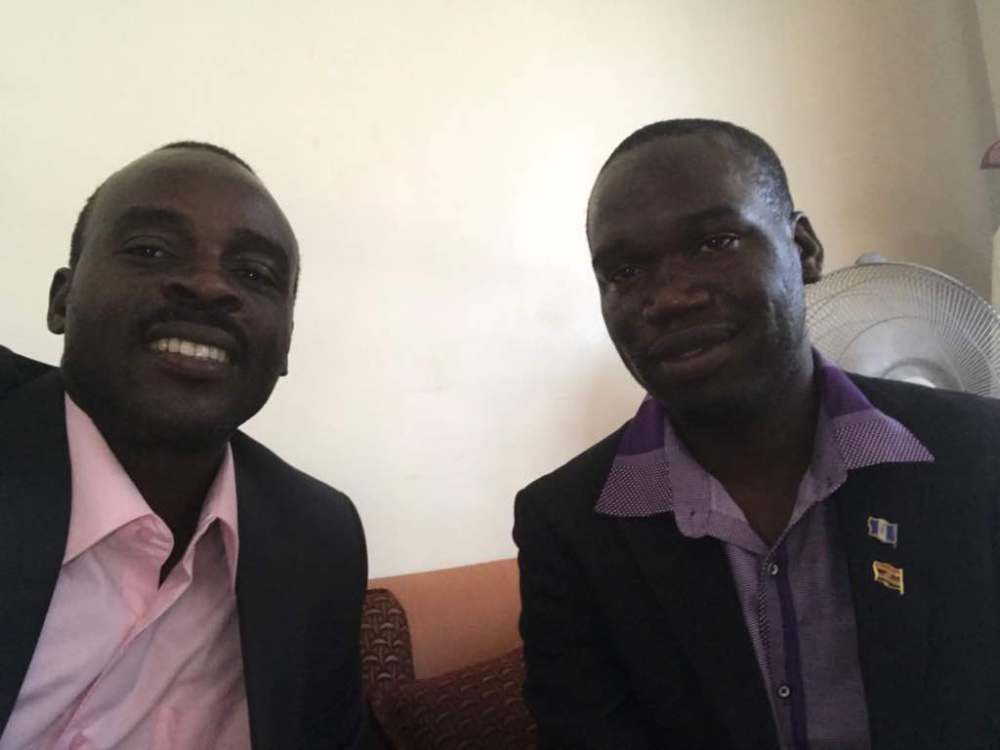 Malcolm Isaac Bulamu with Kivumbi