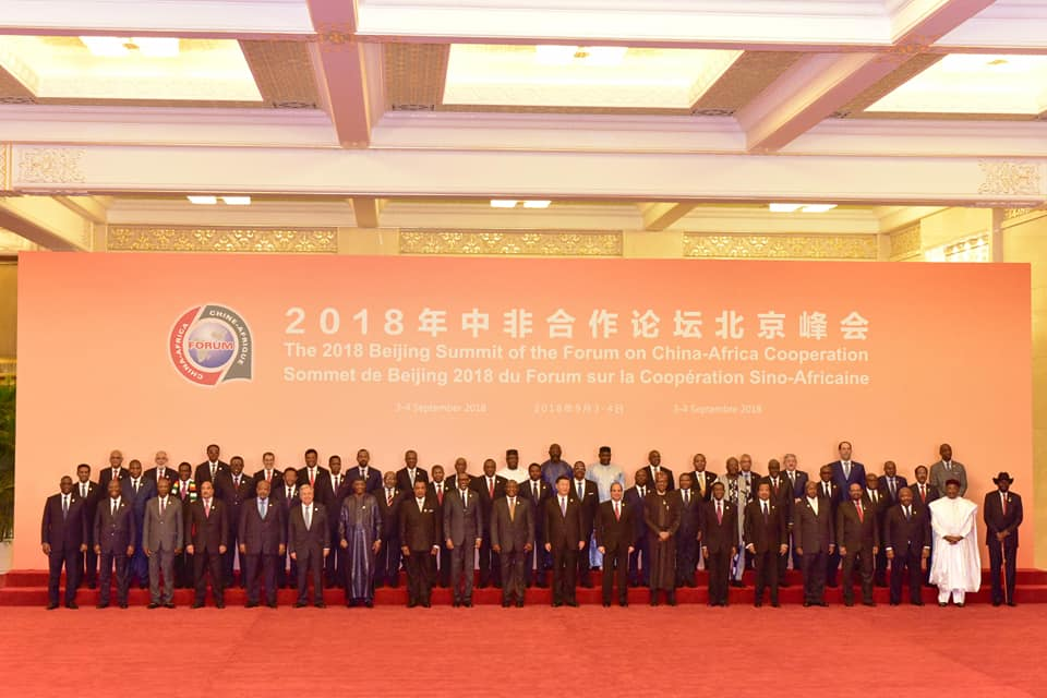 Museveni in Africa China Summit (13)