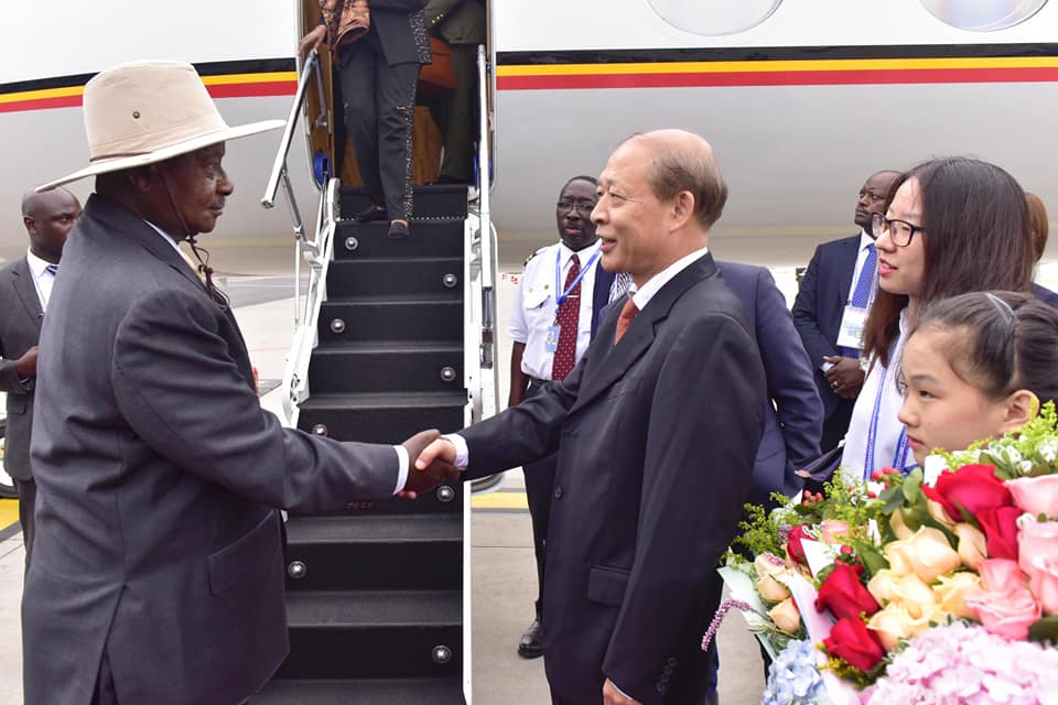 Museveni in Africa China Summit (2)
