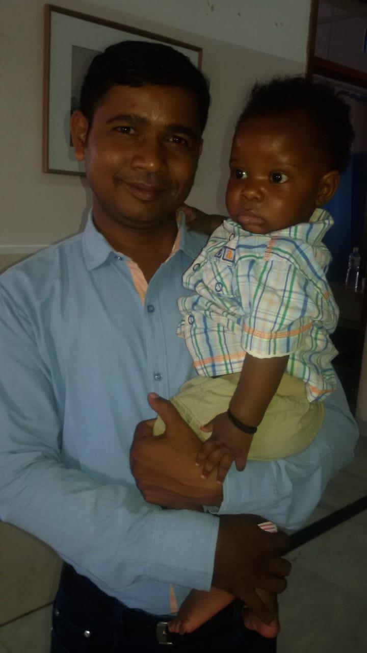 Baby Konde in India (1)
