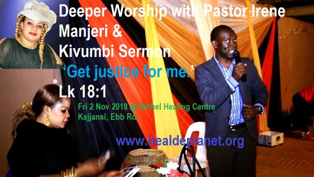 Kivumbi at Pastor Irene Manjeri