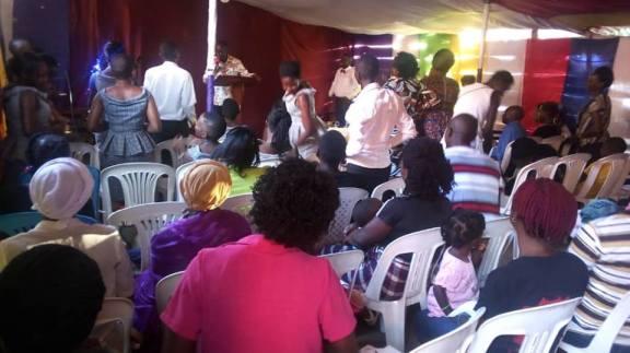 Cap Mike Mukula at Valor Church (1)
