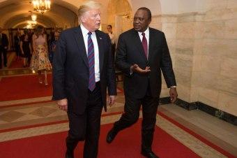 kenyatta-and-trump